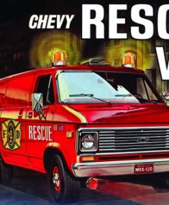 CHEVY RESCUE VAN 1:25 (AMT812)