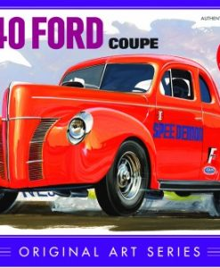 FORD COUPE 1940 ORIGINAL ART 1:25 (AMT850)